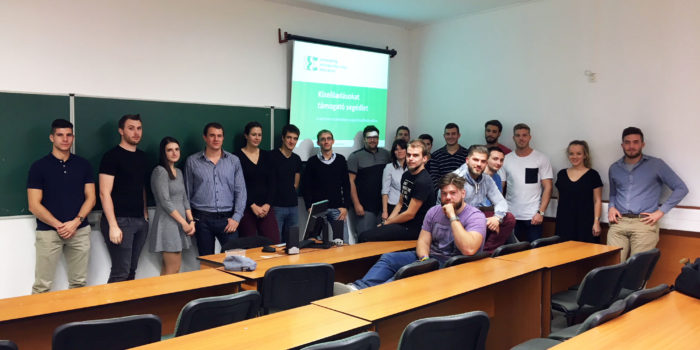 The EEE course launched at University of Szeged