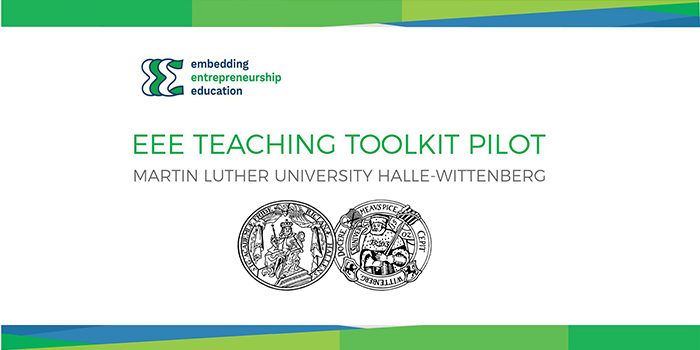 Martin Luther University Halle-Wittenberg has Successfully Implemented a Module from the EEE Teaching Toolkit